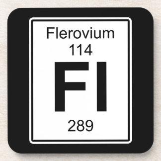 Fl - Flerovium Beverage Coaster