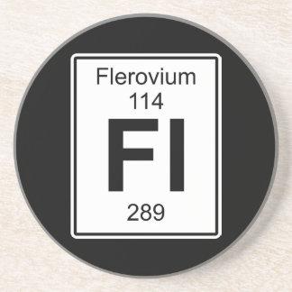 Fl - Flerovium Drink Coaster