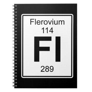 Fl - Flerovium Notebook