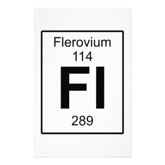 Fl - Flerovium Stationery