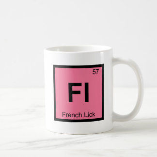 Fl - French Lick Indiana Chemistry Periodic Table Coffee Mug