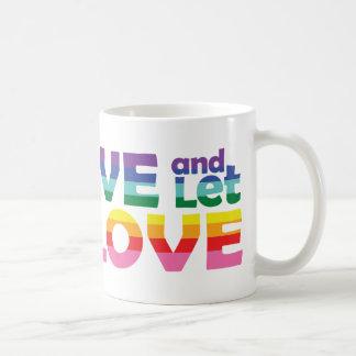 FL Live Let Love Coffee Mug