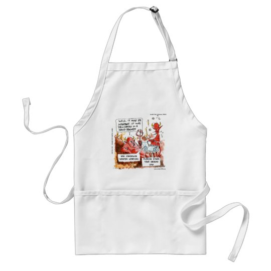 Fl Stand Your Ground Law In Hell Funny Gifts & Tee Adult Apron