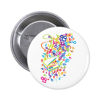 Flabby_Expression 2 Inch Round Button