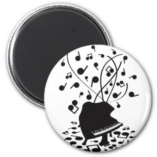 Flabby_Expression 2 Inch Round Magnet
