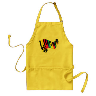 Flabby_Expression Adult Apron