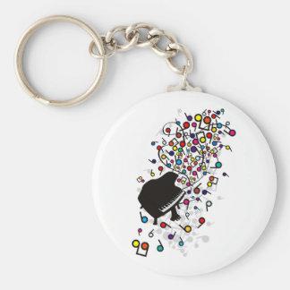 Flabby_Expression Basic Round Button Keychain