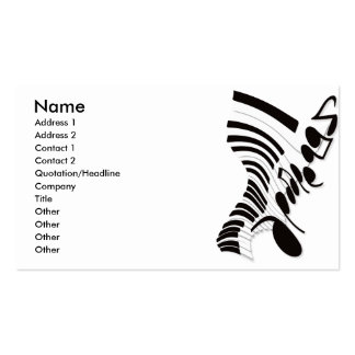 Flabby_Expression Double-Sided Standard Business Cards (Pack Of 100)