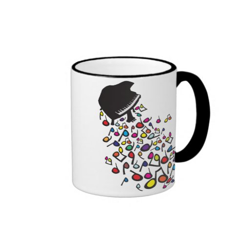 Flabby_Expression (for a cat) Ringer Coffee Mug