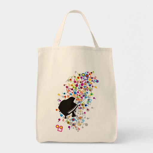 Flabby_Expression Grocery Tote Bag