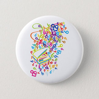 Flabby_Expression Pinback Button