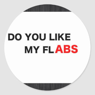 Flabs Classic Round Sticker