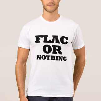 FLAC or Nothing Light T-Shirt