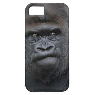 Flachlandgorilla, gorila del gorila, funda para iPhone SE/5/5s