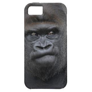 Flachlandgorilla, gorila del gorila, iPhone 5 carcasa