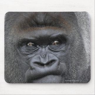 Flachlandgorilla, gorila del gorila, mouse pad