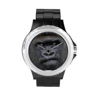 Flachlandgorilla gorila relojes de pulsera