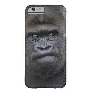 Flachlandgorilla, Gorilla gorilla, Barely There iPhone 6 Case