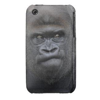Flachlandgorilla, Gorilla gorilla, iPhone 3 Case-Mate Case