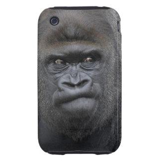 Flachlandgorilla, Gorilla gorilla, Tough iPhone 3 Cover