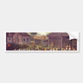 Flachshecheln By Park Linton Bumper Stickers
