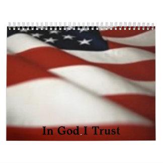 flag1-1, In God I Trust Calendar
