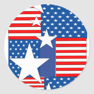 flag1.png classic round sticker