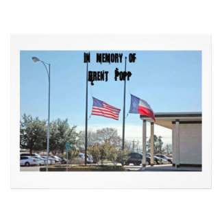 Flag 027, In memory ofBrent Popp Flyer