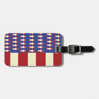flag 2017 Celebrate the 4th of July Bag Tag