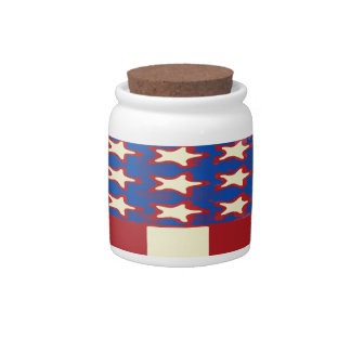 flag 2017 Celebrate the 4th of July Candy Jar