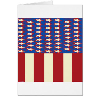 flag 2017 Celebrate the 4th of July Card