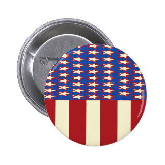 flag 2017 Celebrate the 4th of July Pinback Button