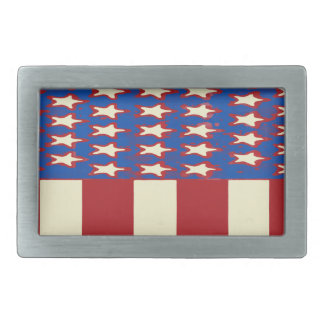flag 2017 Celebrate the 4th of July Rectangular Belt Buckle