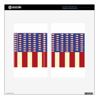 flag 2017 Celebrate the 4th of July Skins For Kindle Fire