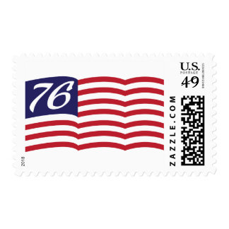 Flag 76 postage stamp
