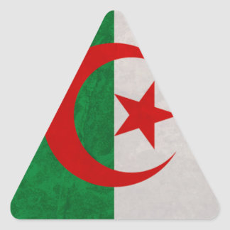 flag Algeria Triangle Sticker