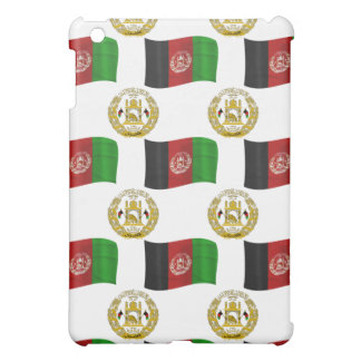Flag and Crest of Afghanistan iPad Mini Case