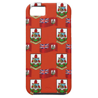 Flag and Crest of Bermuda iPhone SE/5/5s Case