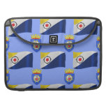 Flag and Crest of Bonaire Sleeve For MacBooks