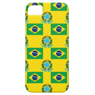 Flag and Crest of Brazil iPhone 5 Case