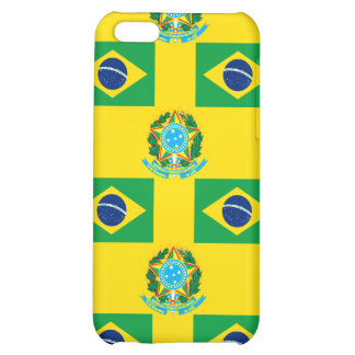 Flag and Crest of Brazil iPhone 5C Covers