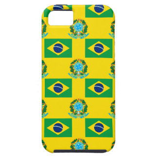 Flag and Crest of Brazil iPhone SE/5/5s Case