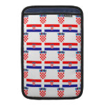 Flag and Crest of Croatia Sleeves For MacBook Air