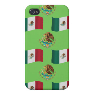 Flag and Crest of Mexico iPhone 4/4S Case