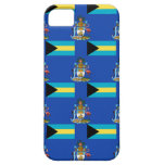 Flag and Crest of the Bahamas iPhone SE/5/5s Case