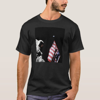 Flag and Earth T-Shirt