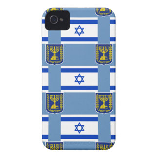 Flag and Emblem of Israel Case-Mate iPhone 4 Case