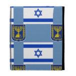 Flag and Emblem of Israel iPad Folio Case