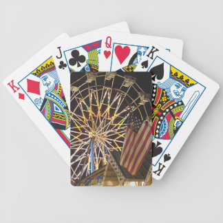 Flag and Farris Wheel Deck Of Cards