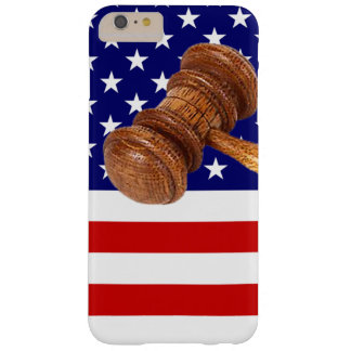 FLAG AND GAVEL BARELY THERE iPhone 6 PLUS CASE